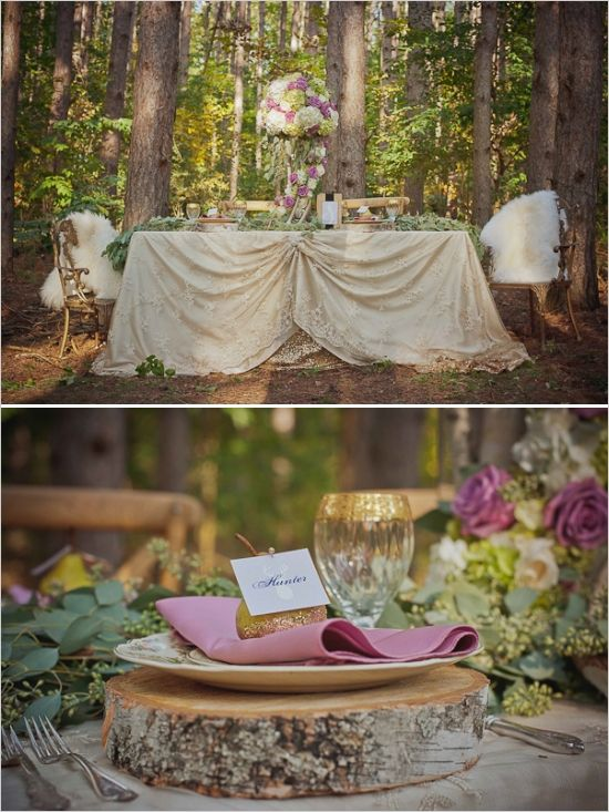 Disney Princess Wedding Centerpiece Ideas