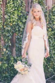 hair bride veil