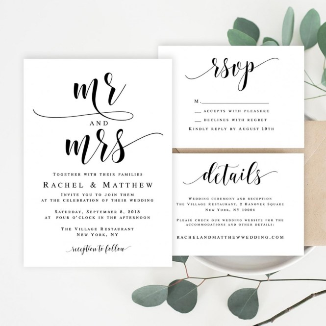 Inexpensive Wedding Invitations That Look Anything But