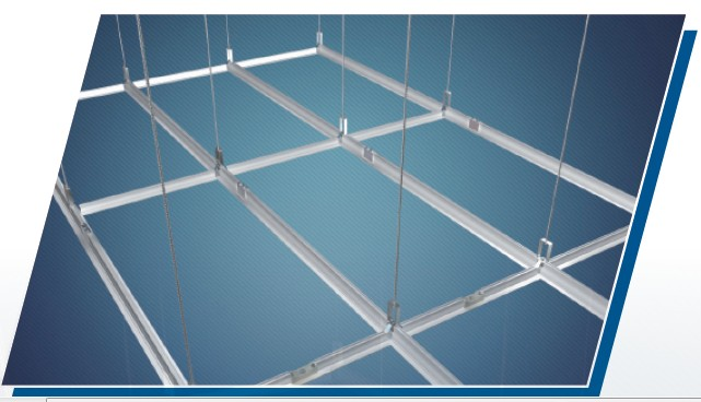 Cleanroom ceiling grid for Room grid