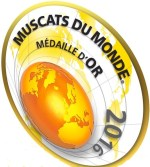 Muscats du Monde Gold Medal 2016 (cropped)