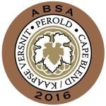 Perold Cape Blend 2016 (bottle sticker, small)