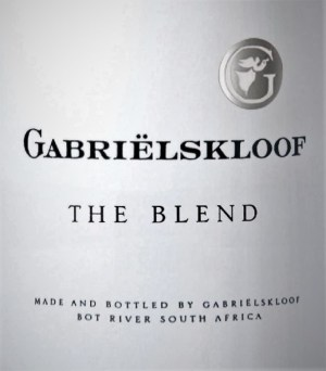 Gabrielskloof The Blend 2013 (Bordeaux-Style Red)