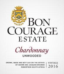 Bon Courage Unwooded Chardonnay 2016