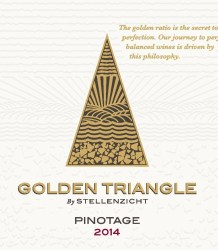 Golden Triangle Pinotage 2014 (Stellenzicht)