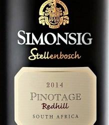 Simonsig Redhill Pinotage 2014