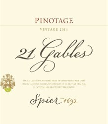 Spier 21 Gables Pinotage 2014