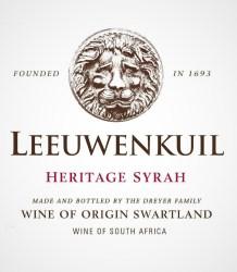 Leeuwenkuil Heritage Syrah 2014