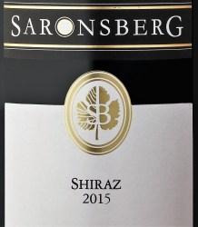 Saronsberg Shiraz 2015
