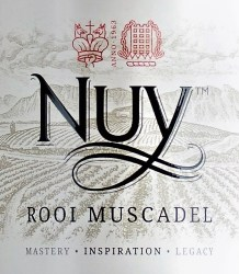 Nuy Red Muscadel 2012