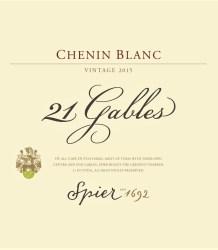 Spier 21 Gables Chenin Blanc 2015