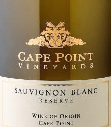 Cape Point Sauvignon Blanc Reserve 2015