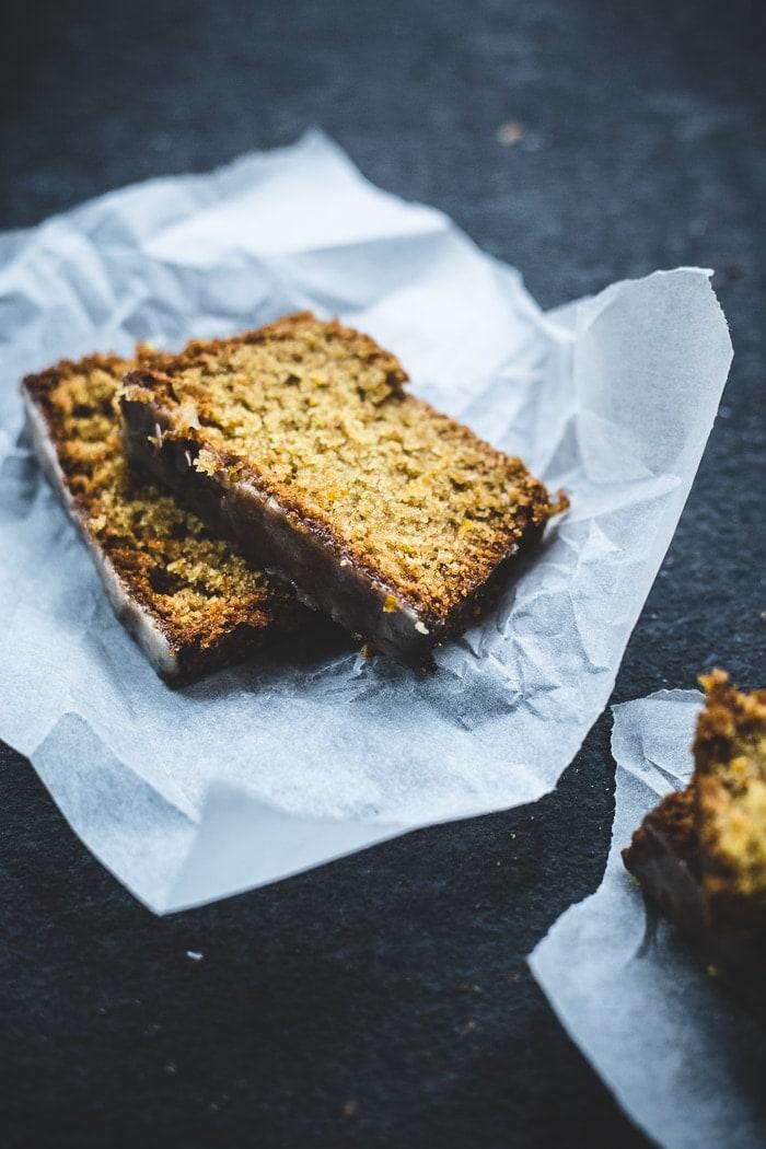 Orange Spelt and Almond Cake {vegan}