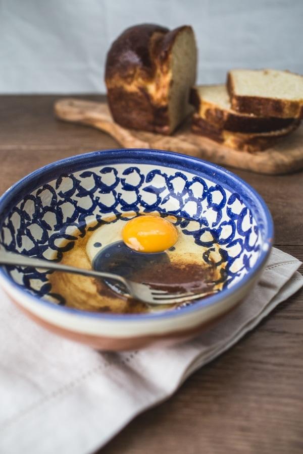 Waffled Brioche French Toast