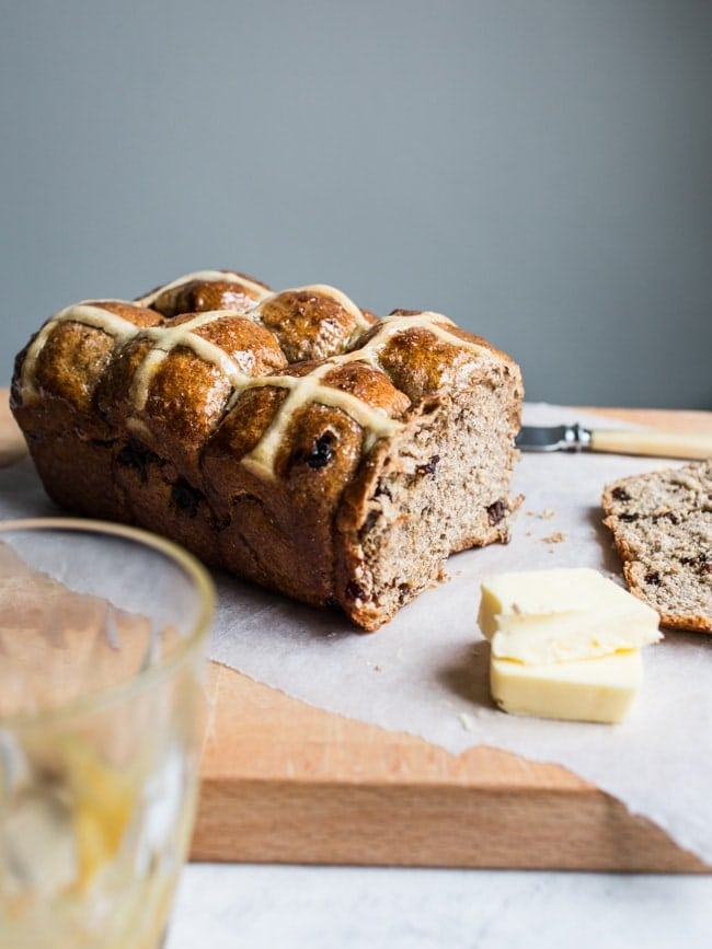 Hot Cross Bun Loaf-34