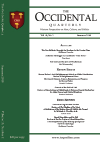 The Occidental Quarterly - Summer 2018