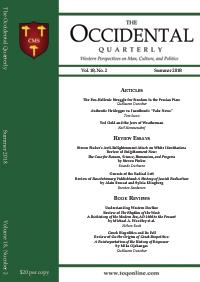 The Occidental Quarterly - Summer 2018