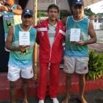 Fernando e Tadeu, de Macaé: campeões no futevôlei