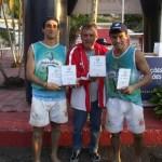 Jorginho e Leo, de Areal, vice-campeões