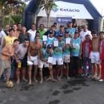 Participantes da Copa Estácio de Vôlei, disputada no Tupynambás