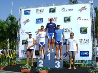 Juiz-foranos bem no Carioca de Triathlon