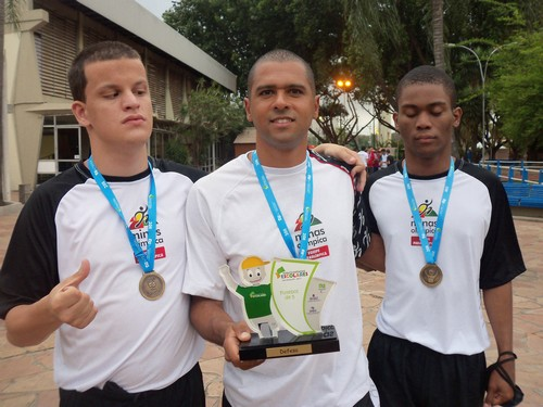 Seleção Mineira com atletas do Visão no Esporte é bicampeã. Veja fotos