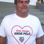 Áureo Fortuna, atual presidente, quer ficar