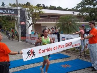 Andriléia e Jocemar vencem Corrida Sesi. Veja resultado completo