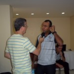 Ricardo Wagner (Rádio Globo) entrevista auxiliar técnico Felipe Suriani