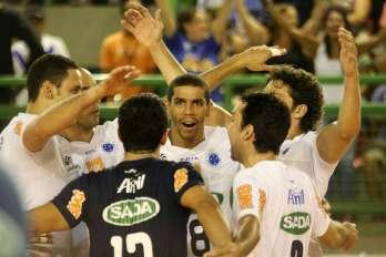 Cruzeiro vence São Bernardo na abertura dos playoffs da Superliga