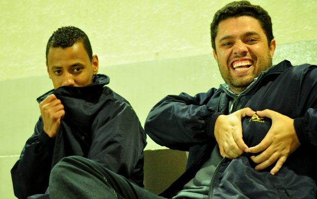 """""""Movidos pelo coração"""": torcida compareceu e apoiou a MRS durante toda a partida. (Foto: Renato Gomes)"""