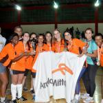 Arcelor Mittal: festa pelo título no futsal feminino dos Jogos Sesi Juiz de Fora