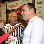 Amigos Fernando Guedes e Manoel Miranda, pouco antes da prova
