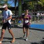 Zirlene dos Santos, foi campeã feminina com 27:44.7 de prova