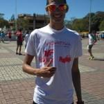 Eberth Silvério, campeão masculino
