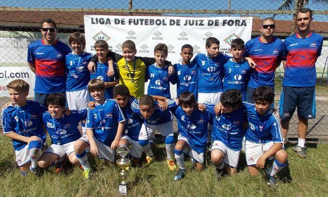 CF Zico: vice-campeão sub 11 na competição da Liga de Futebol de Juiz de Fora