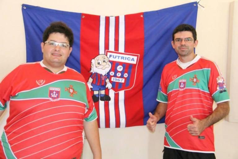 João Paulo e Fabiano, da Sociedade Portuguesa/Futrica