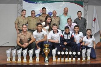 Colégio Militar brilha nos Jogos Intercolegiais 2013