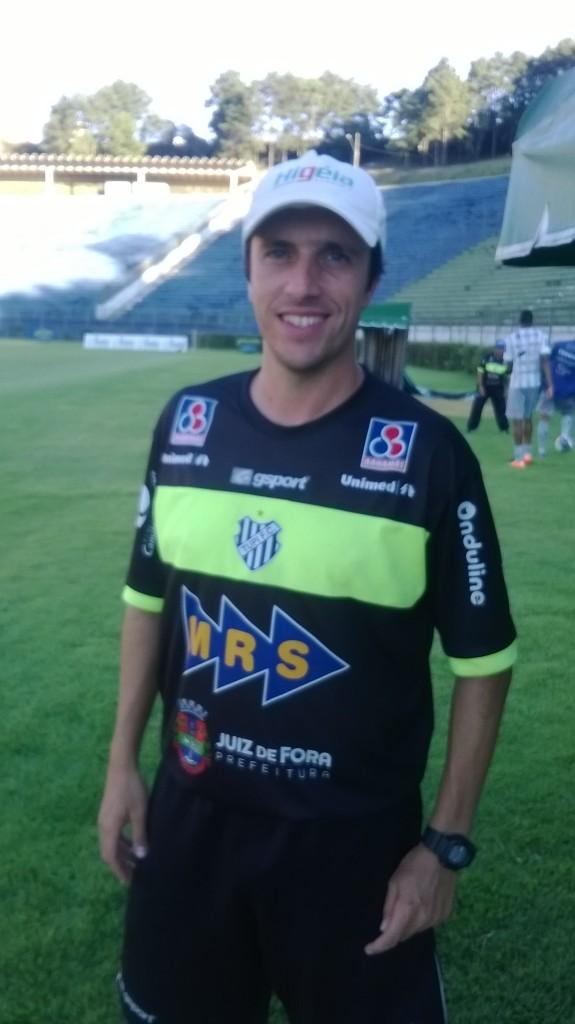 "Preparador físico do Alvinegro, Luis Augusto Alvim: ""Voltando para casa"""