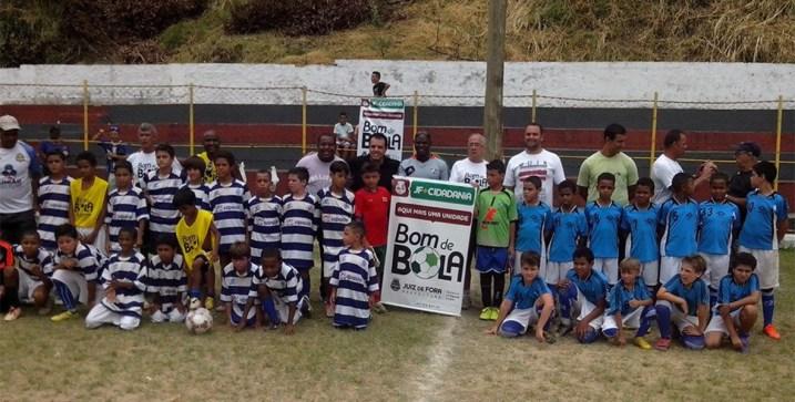 Torneio Bom de Bola foi uma das atrações no final de semana em Juiz de Fora
