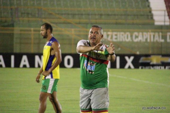 Técnico do Juazeiro, Aldo França, comanda o time há pouco mais de um mês