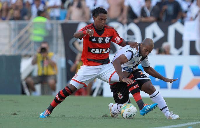 Flamengo e Vasco fizeram jogo muito truncado, que terminou empatado em 1 a 1