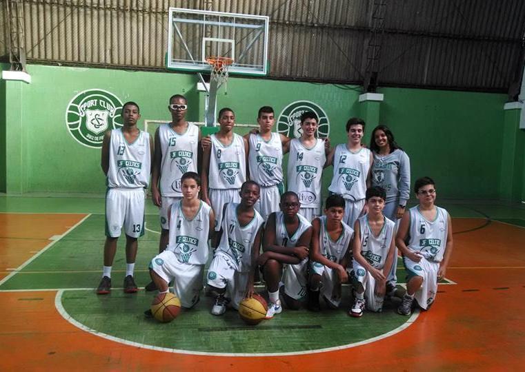 Equipe sub 14 do JF Celtics venceu as duas etapas da Copa Serrana