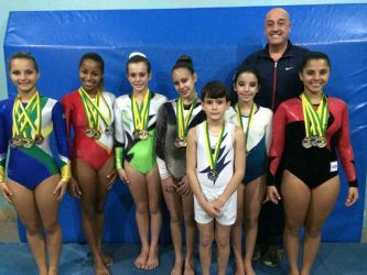Atletas de JF voltam com 24 medalhas do Brasileiro de Ginástica de Trampolim
