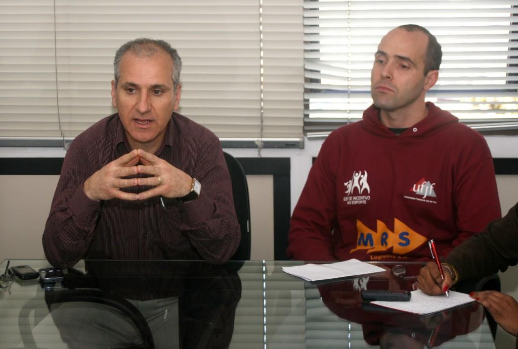 Professores Renato Miranda (esquerda) e Maurício Bara foram fundamentais na reação da Federal na temporada passada