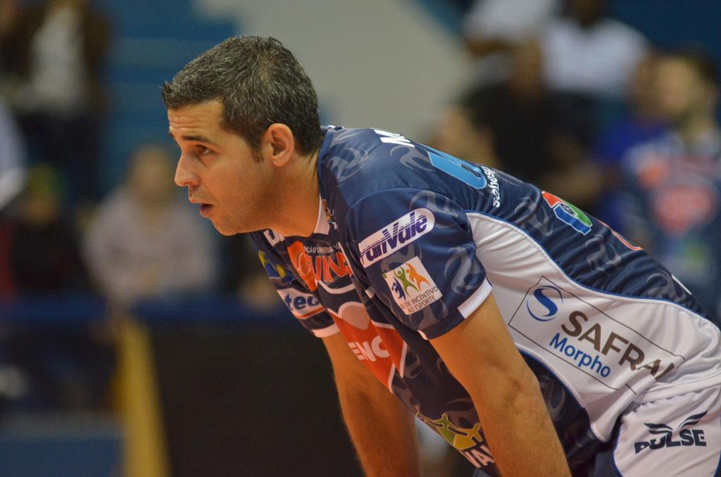 Funvic Taubaté investiu na volta de Dante, um dos maiores ponteiros do voleibol brasileiro