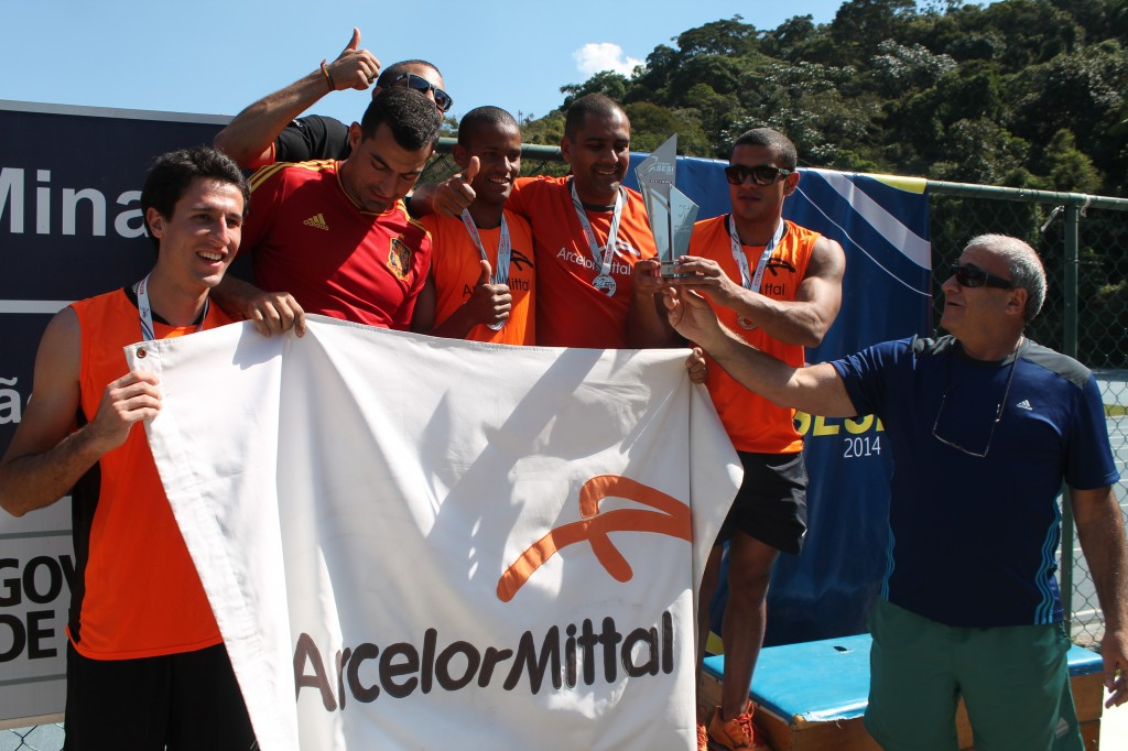 Vice-campeões no atletismo da ArcelorMittal