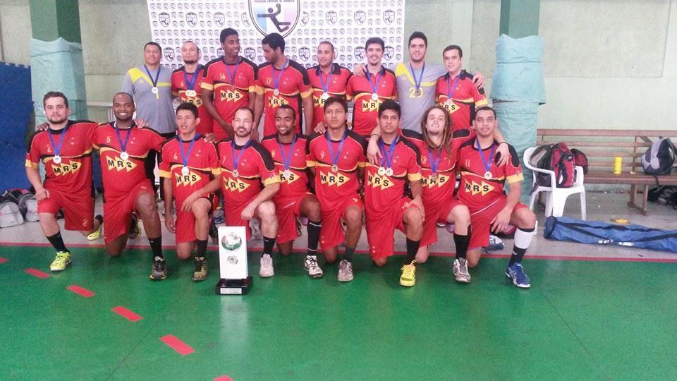 Equipe da ADJF/MRS Logística conquistou a segunda colocação na Copa Brasil de Handebol Masculino há menos de um mês atrás
