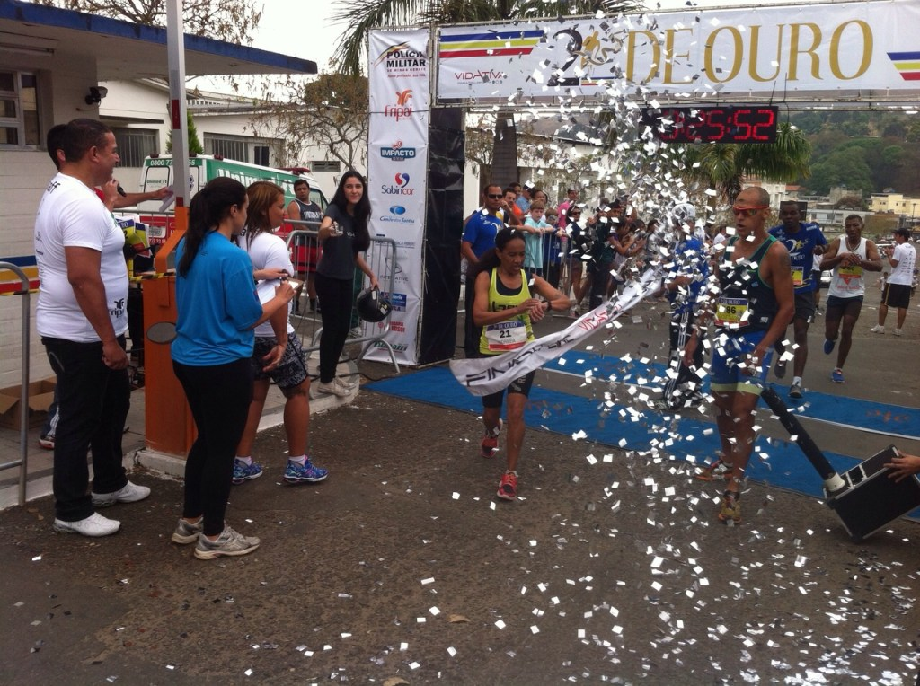 Andriléia do Carmo: primeiro lugar no geral feminino