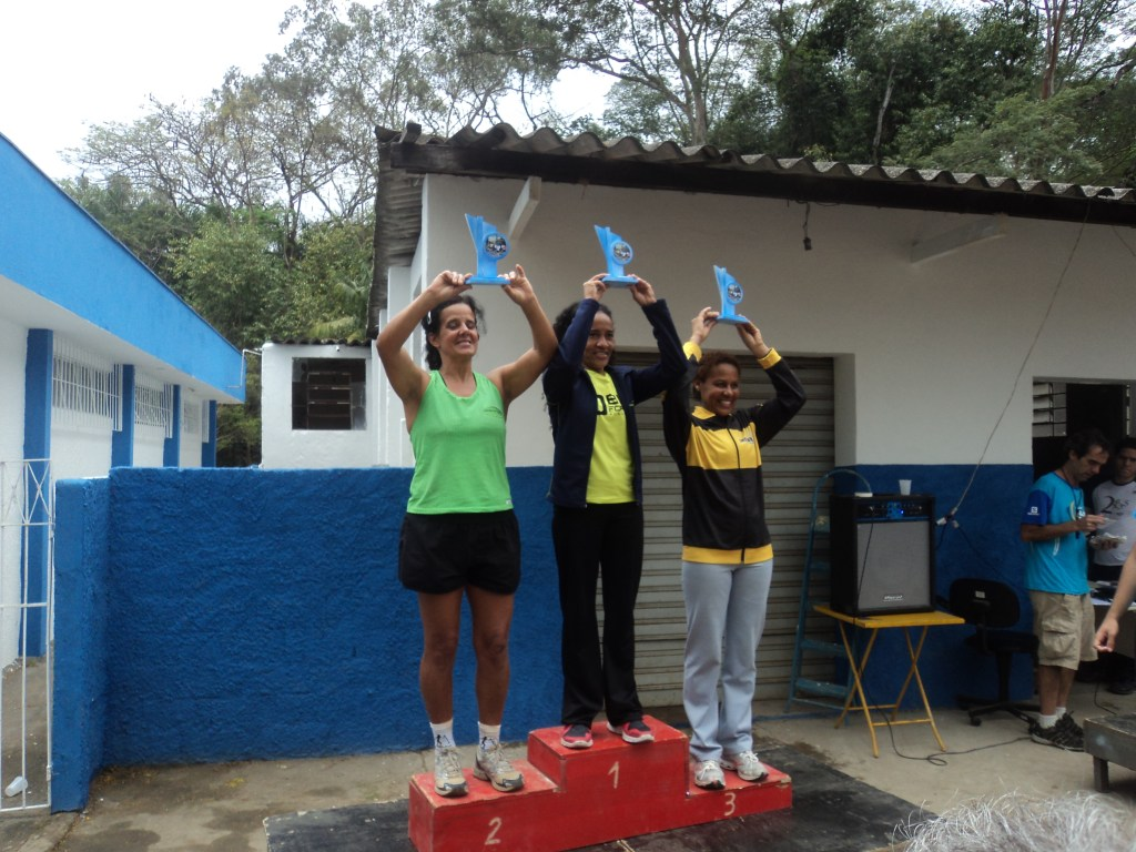 Andrileia do Carmo, Mariângela Jenevain e Ivani foram as três primeiras colocadas na prova entre as mulheres